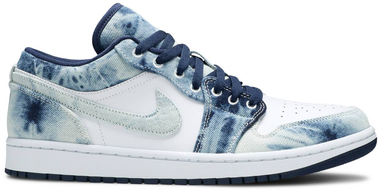 Tênis Air Jordan 1 Low SE Washed Denim