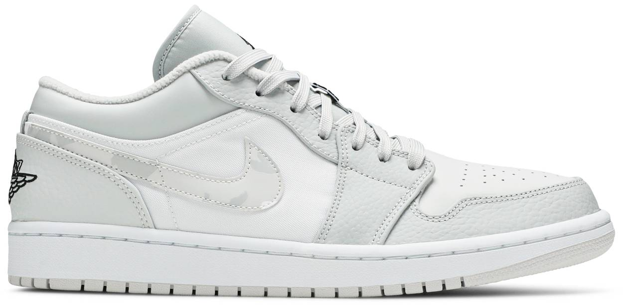 Tênis Air Jordan 1 Low White Camo