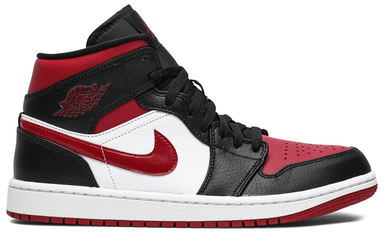 Tênis Air Jordan 1 Mid Noble Red