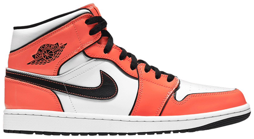 Tênis Air Jordan 1 Mid SE Turf Orange