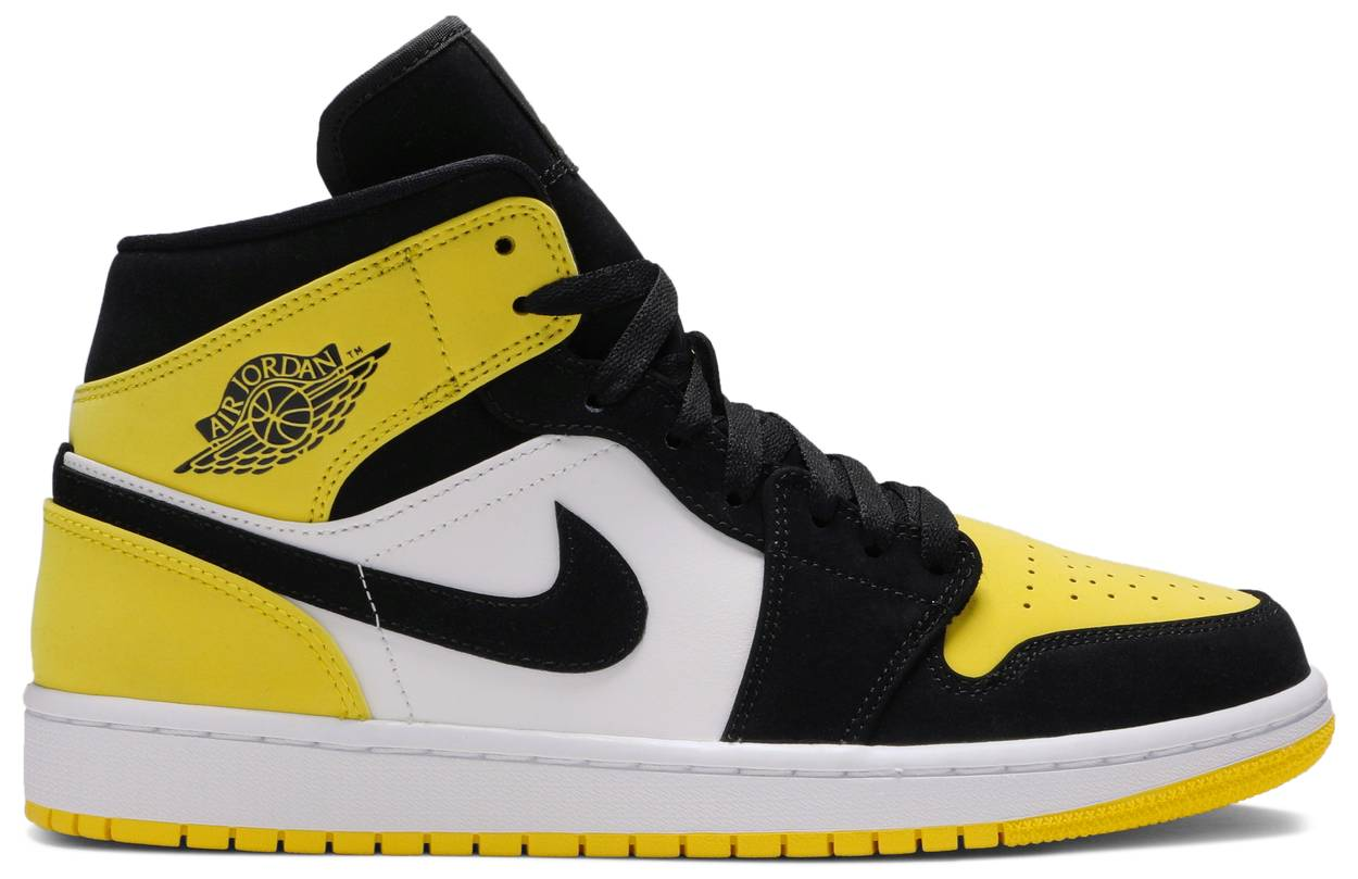 Tênis Air Jordan 1 Mid SE Yellow Toe