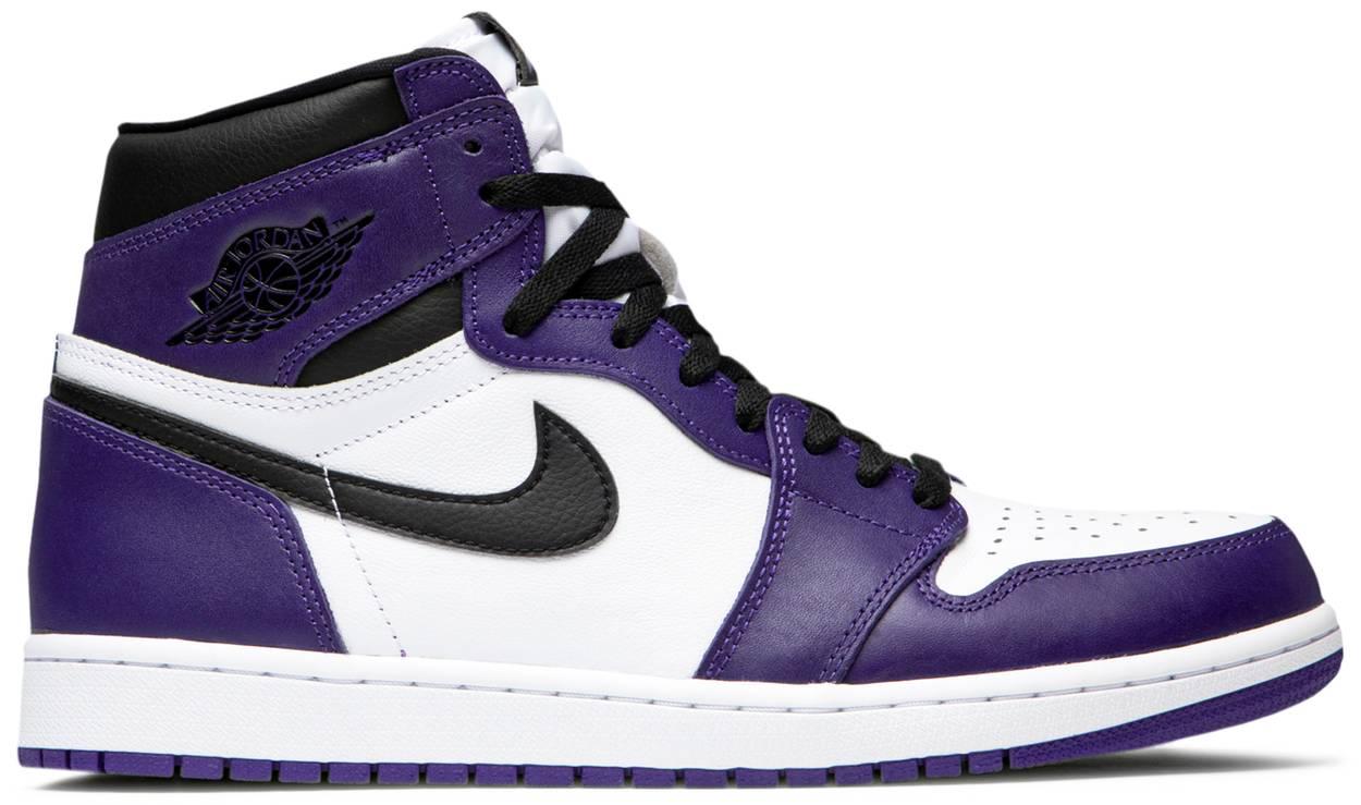 Tênis Air Jordan 1 Retro High OG Court Purple 2.0