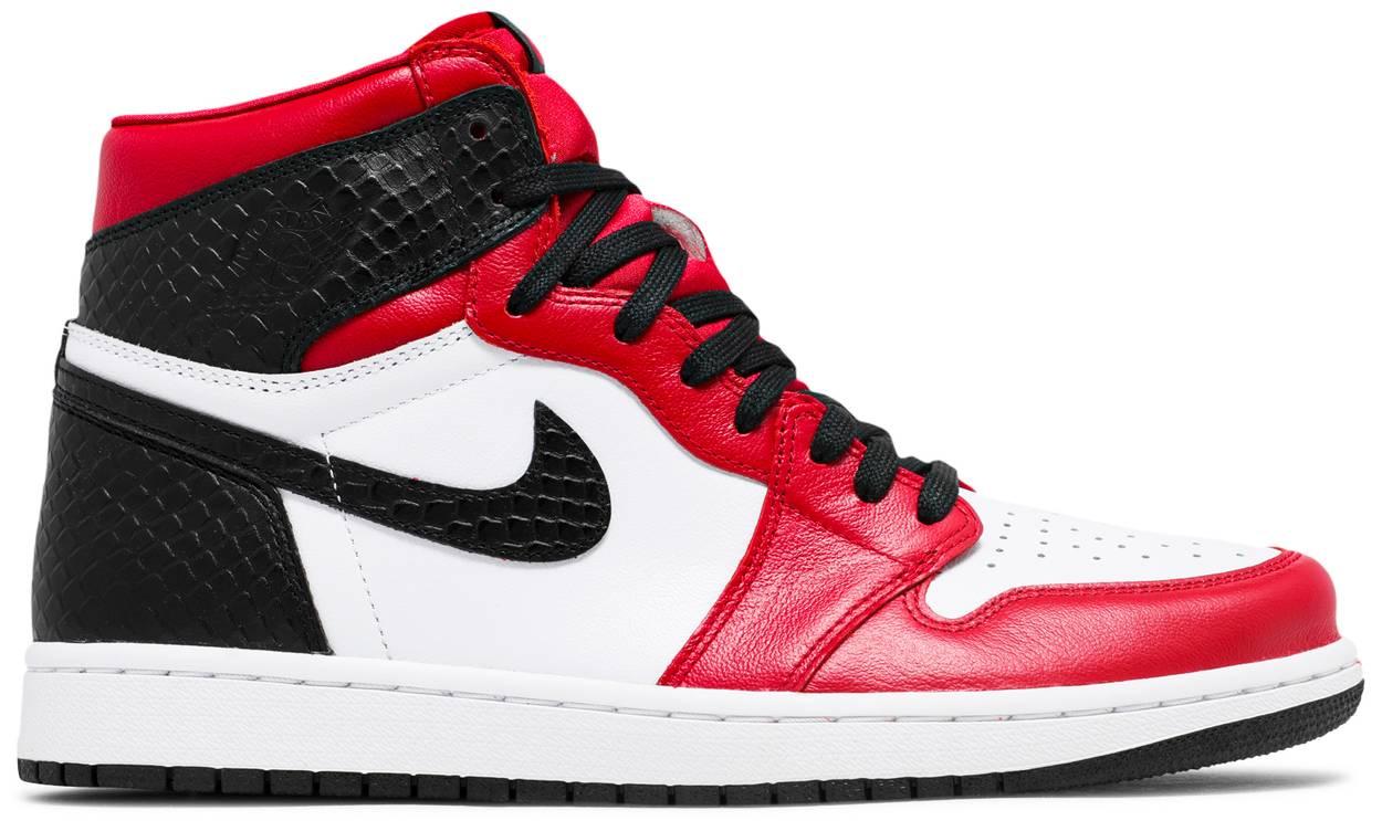 Tênis Air Jordan 1 Retro High OG Satin Red