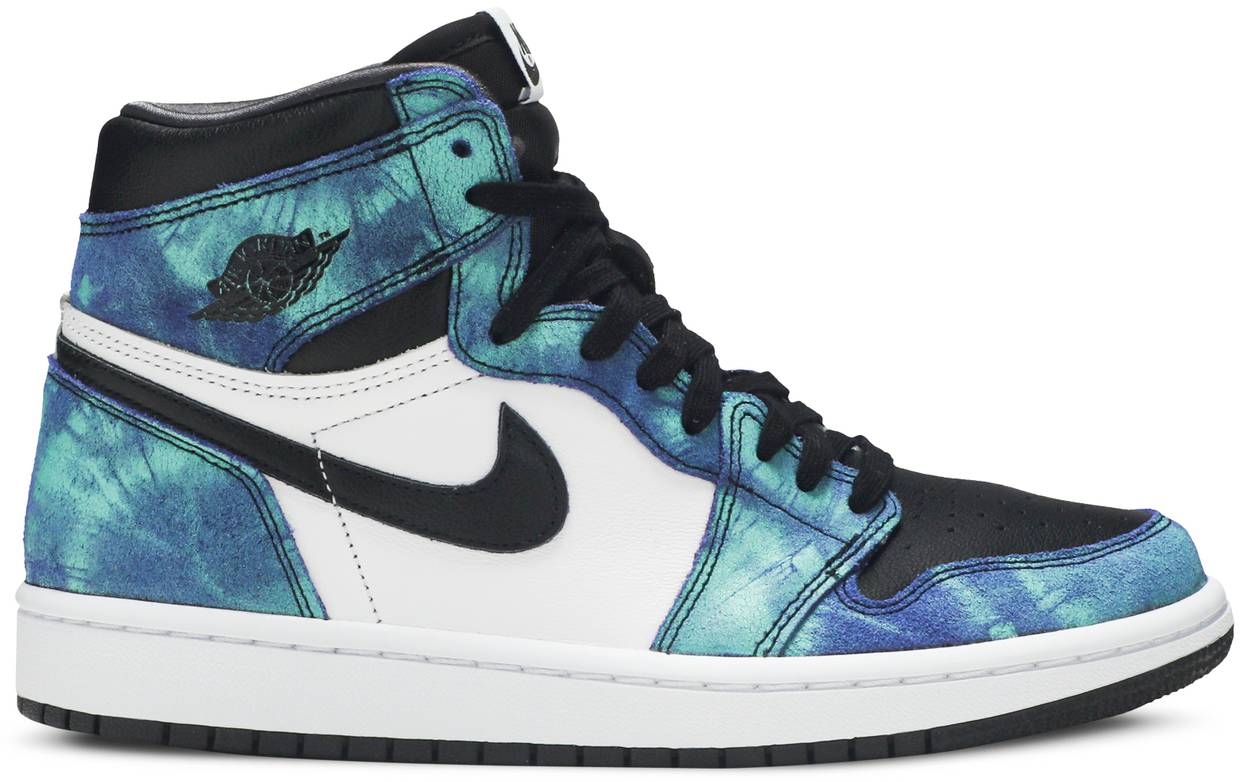 Tênis Air Jordan 1 Retro High OG Tie-Dye