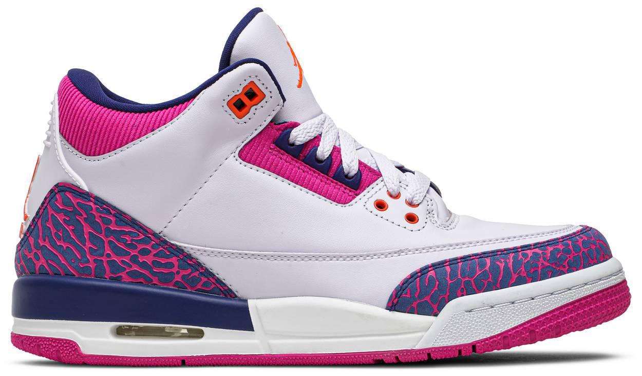 Tênis Air Jordan 3 Retro GG Barely Grape