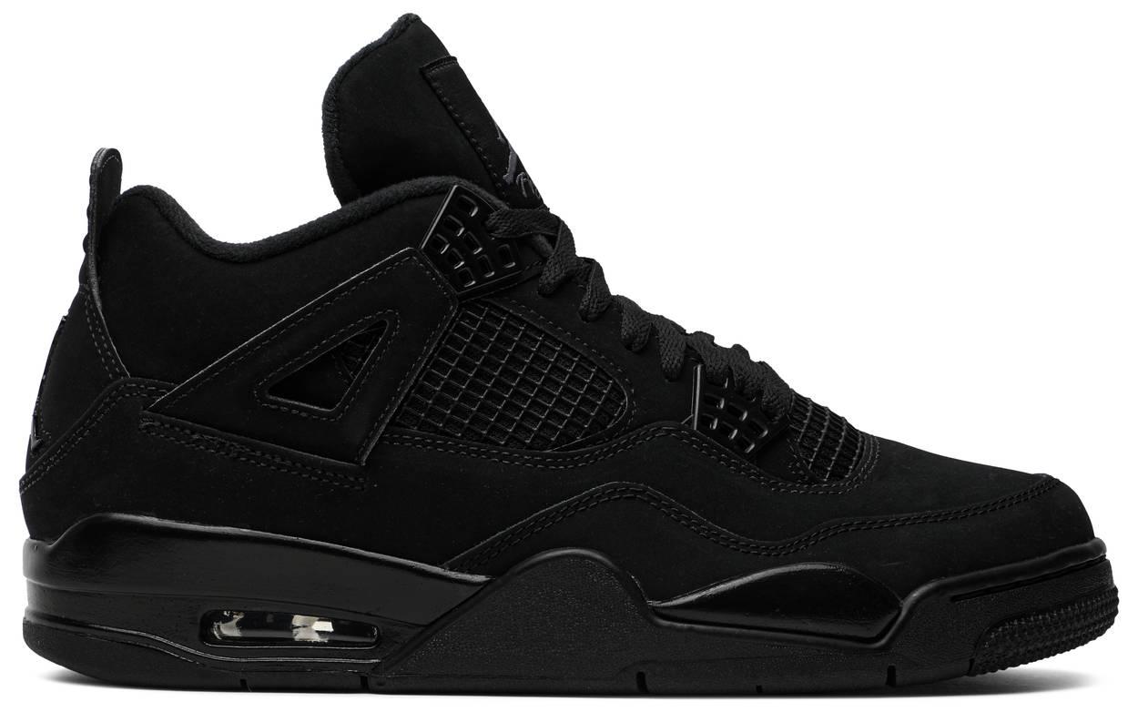 Tênis Air Jordan 4 Retro Black Cat 2020