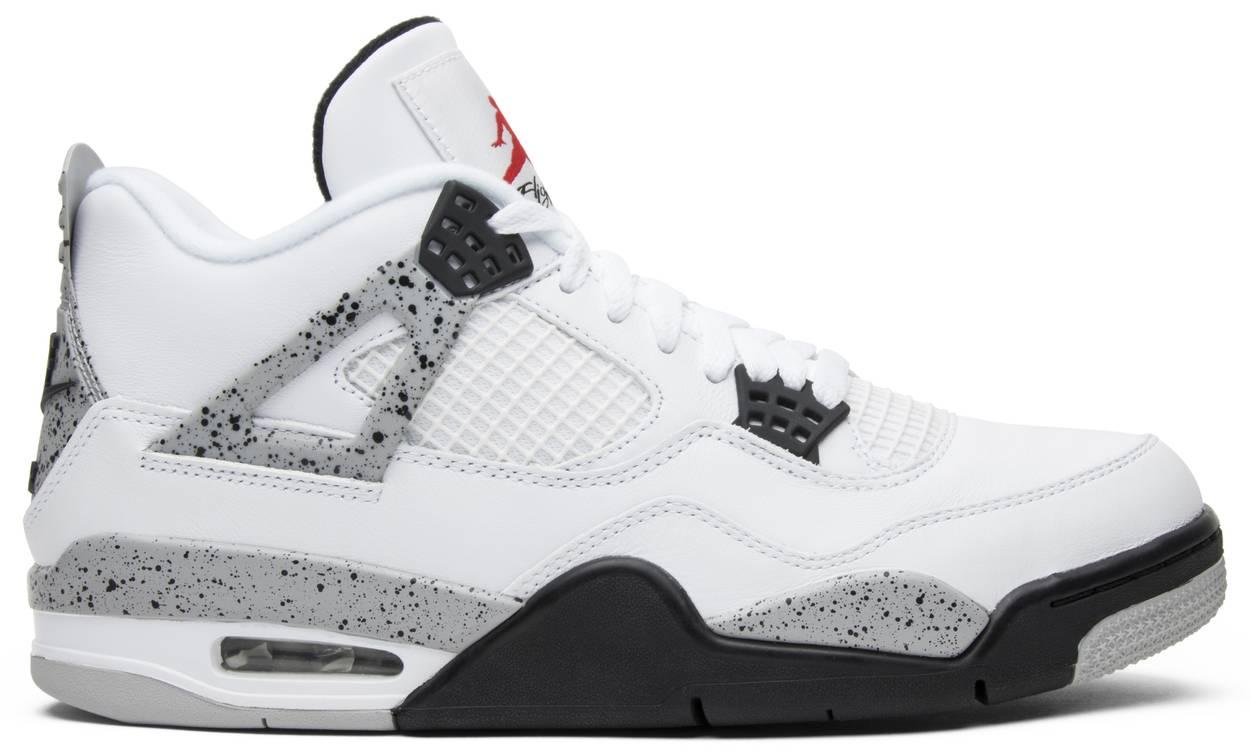 Tênis Air Jordan 4 Retro OG White Cement 2016