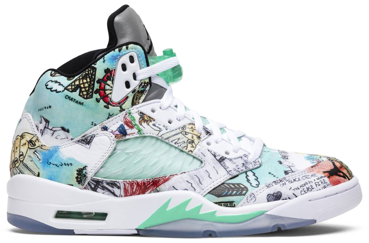 Tênis Air Jordan 5 Retro Wings