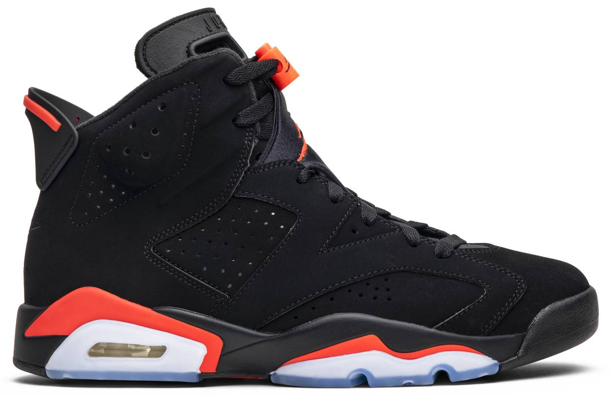 Tênis Air Jordan 6 Retro Infrared 2019