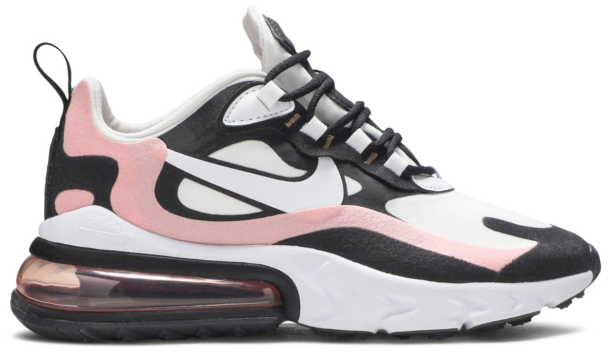 Tênis Nike Air Max 270 React Coral Black