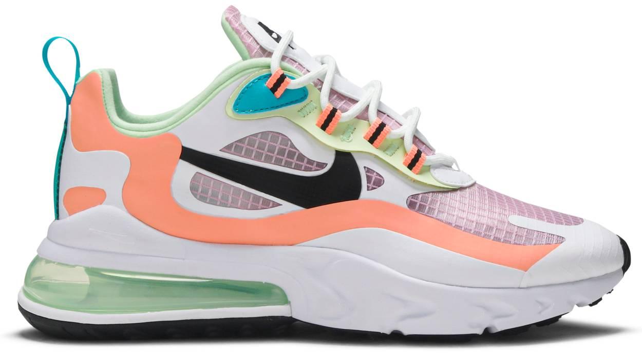Tênis Nike Air Max 270 React Light Arctic Pink