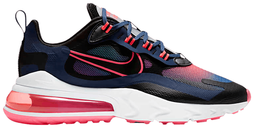 Tênis Nike Air Max 270 React Midnight Navy Crimson