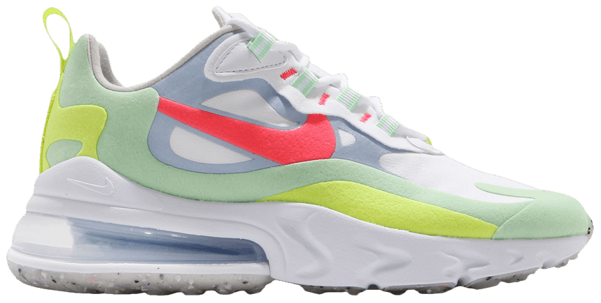 Tênis Nike Air Max 270 React Regrind Soles - Cucumber Green