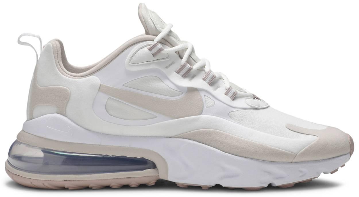 Tênis Nike Air Max 270 React Summit White Orewood Brown