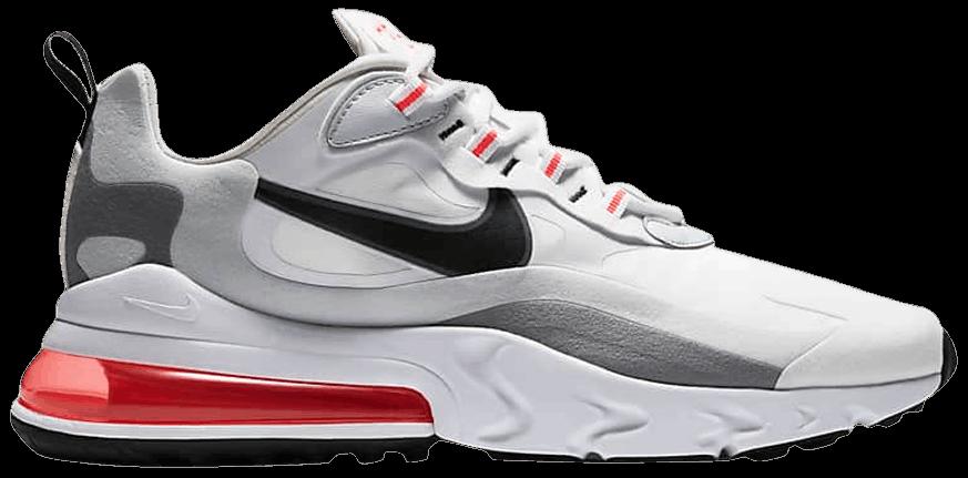 Tênis Nike Air Max 270 React White Crimson Black