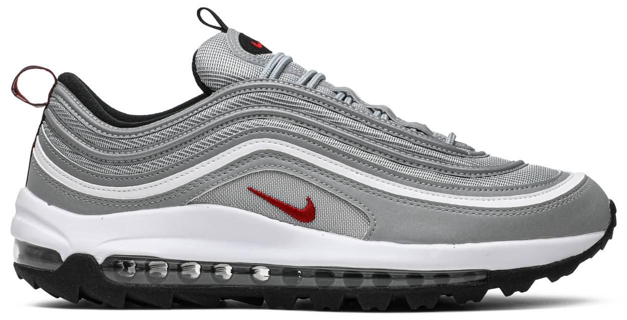 Tênis Nike Air Max 97 Golf Silver Bullet