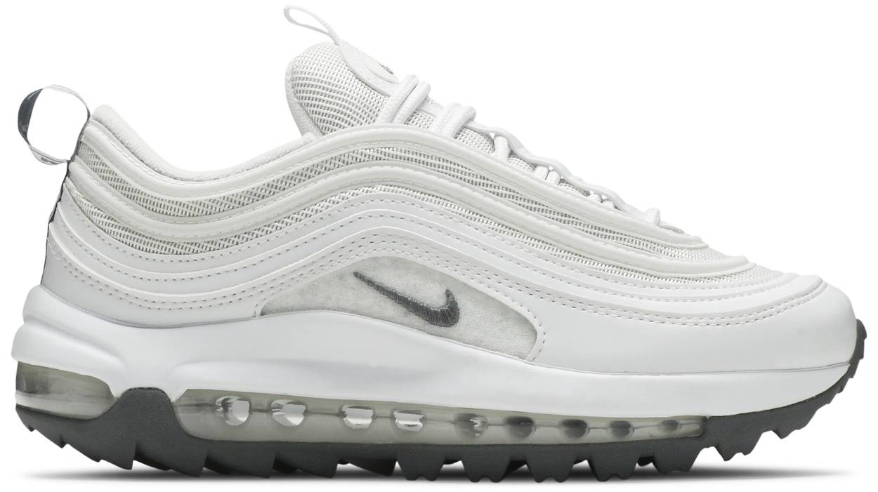 Tênis Nike Air Max 97 Golf White Grey