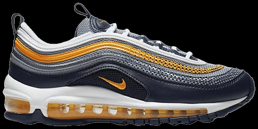 Tênis Nike Air Max 97 RF GS Navy Laser Orange