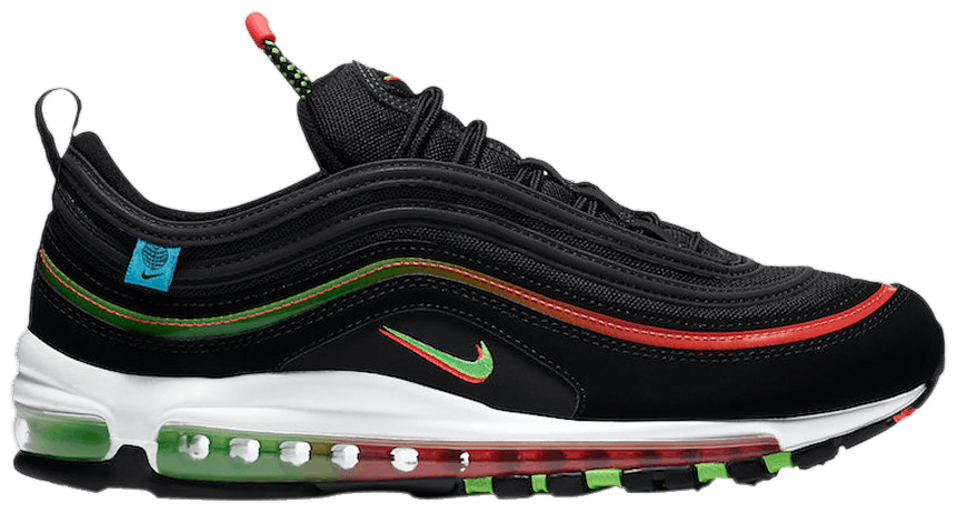 Tênis Nike Air Max 97 Worldwide Pack - Black