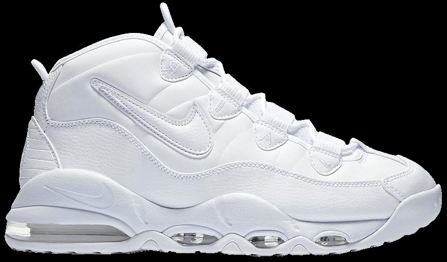 Tênis Nike Air Max Uptempo 95 Triple White