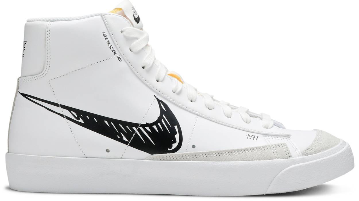 Tênis Nike Blazer '77 Sketch - Black