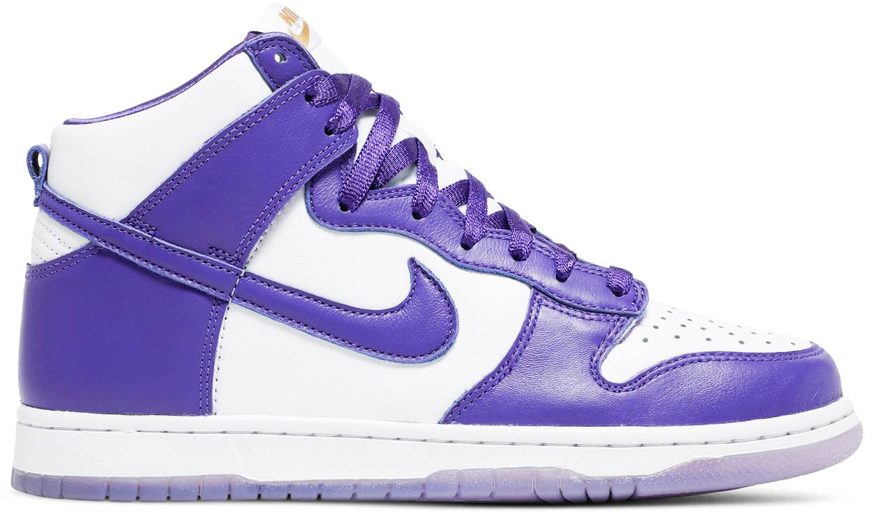 Tênis Nike Dunk High Varsity Purple