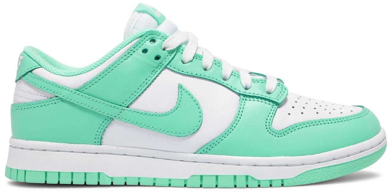 Tênis Nike Dunk Low Green Glow