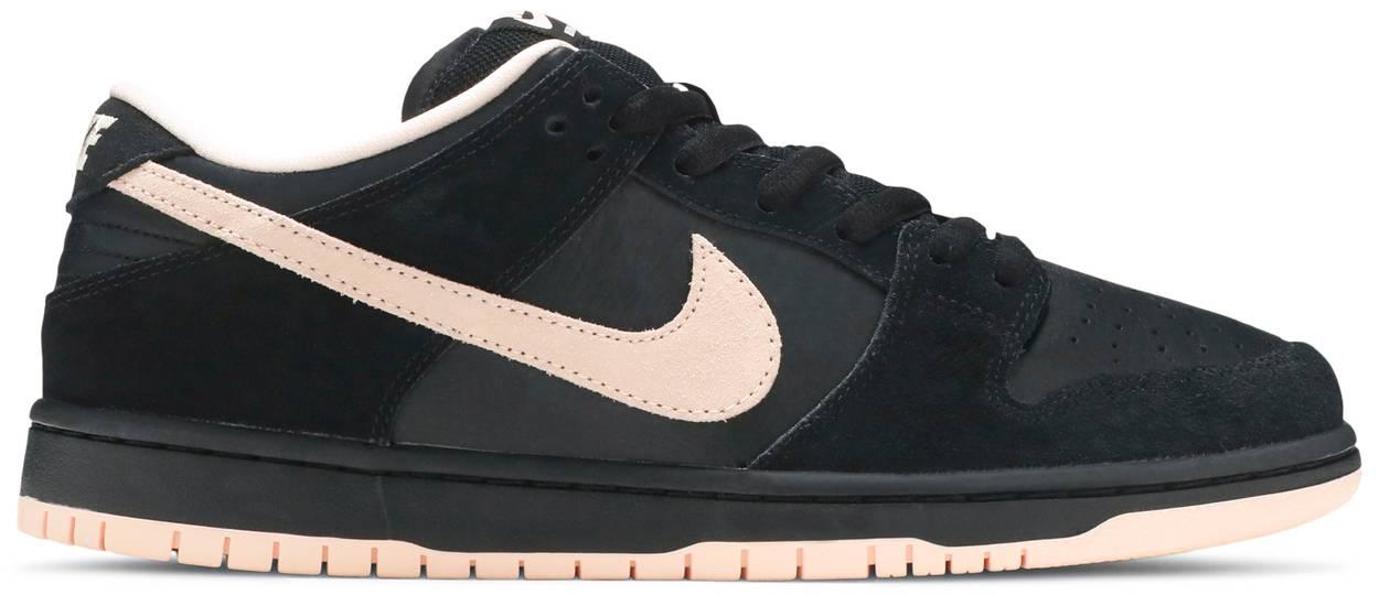 Tênis Nike Dunk Low SB Black Coral