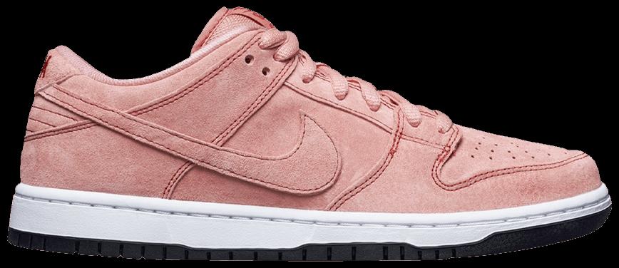 Tênis Nike Dunk Low SB Pink Pig