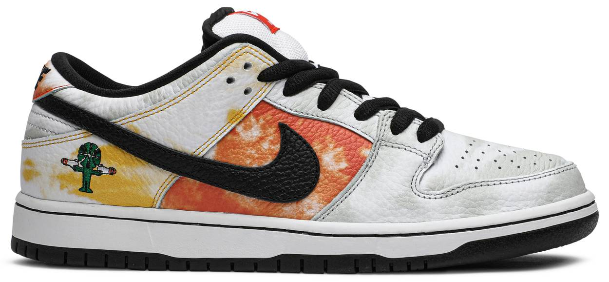 Tênis Nike Dunk SB Low Tie-Dye Raygun - White