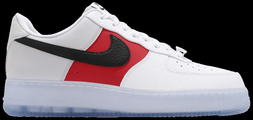 Tênis Nike Air Force 1 '07 LV8 EMB Icy Soles - University Red