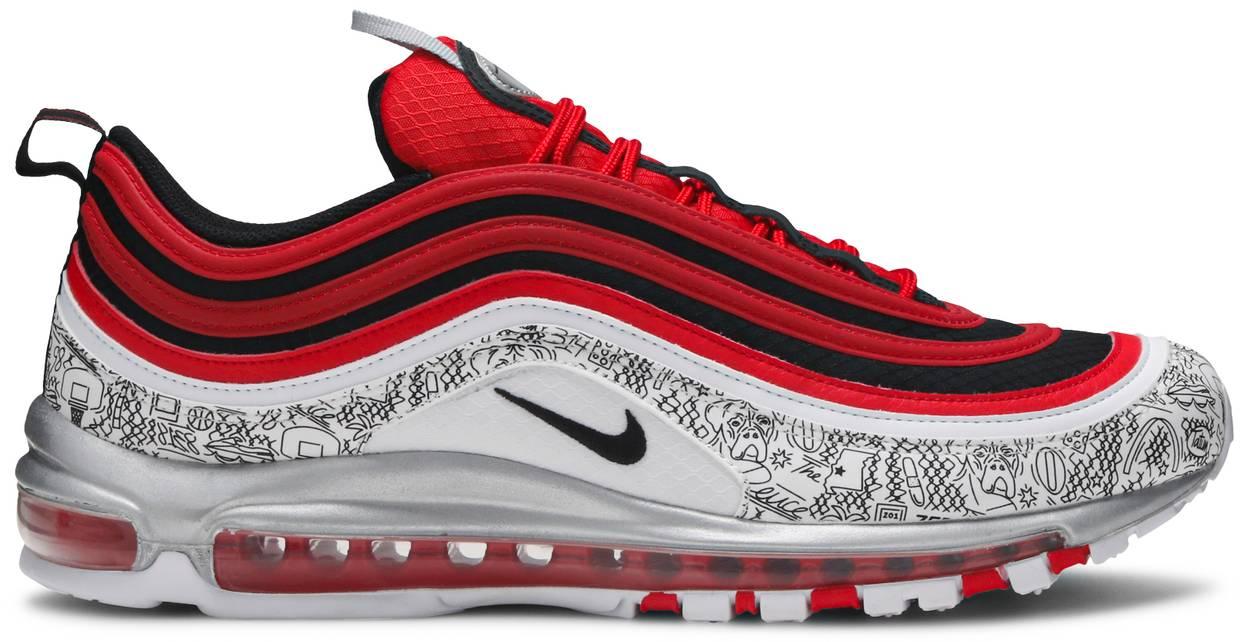 Tênis Nike Jayson Tatum x Air Max 97 Saint Louis Roots