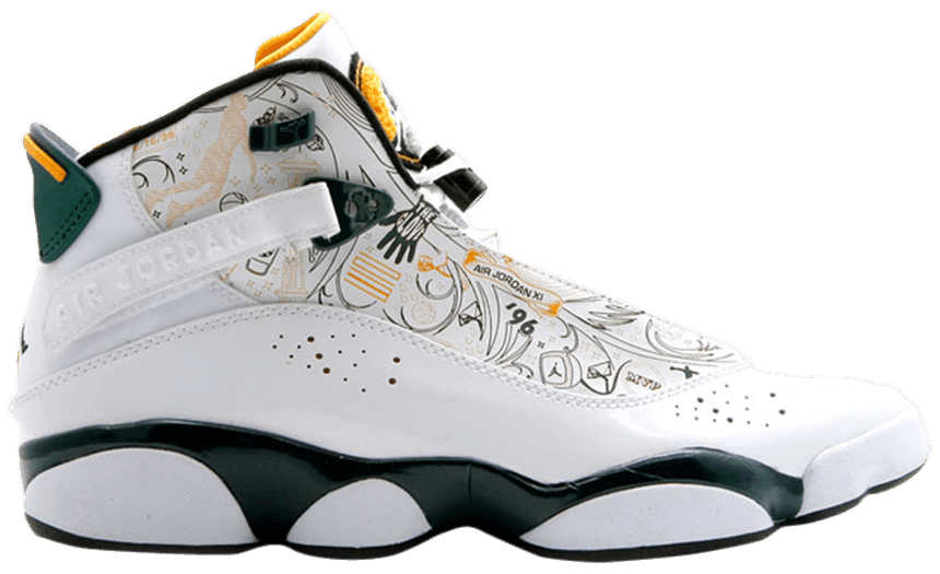 Tênis Air Jordan 6 Rings Seattle