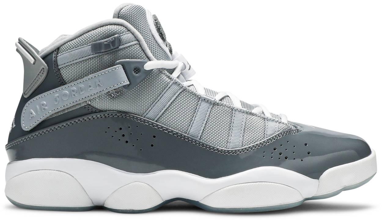 Tênis Air Jordan 6 Rings Cool Grey
