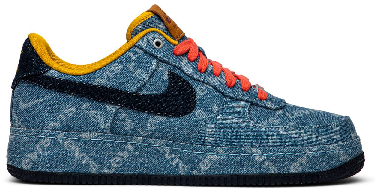 Tênis Nike Levi's x Nike By You x Air Force 1 Low Exclusive Denim