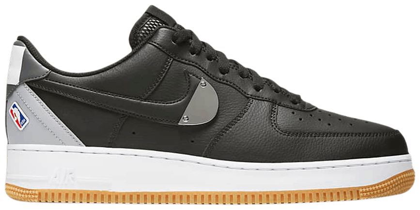 Tênis Nike NBA x Air Force 1 '07 LV8 Black Wolf Grey