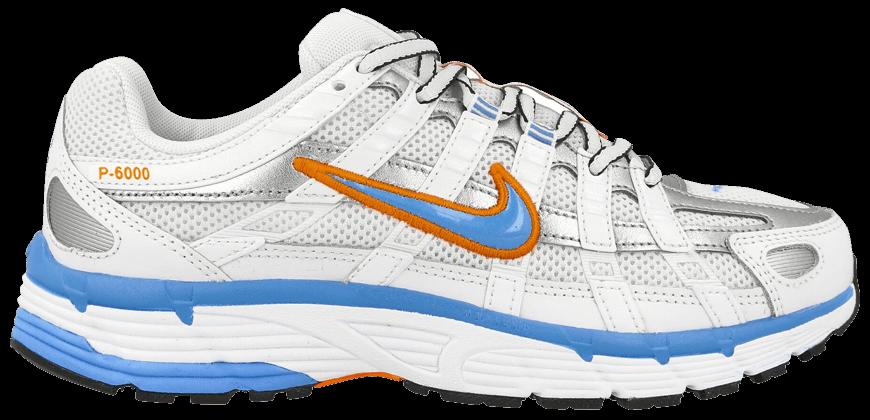 Tênis Nike P-6000 White University  Blue