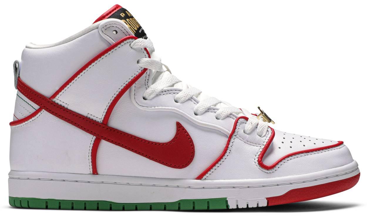 Tênis Nike Paul Rodriguez x Dunk High Premium SB Boxing