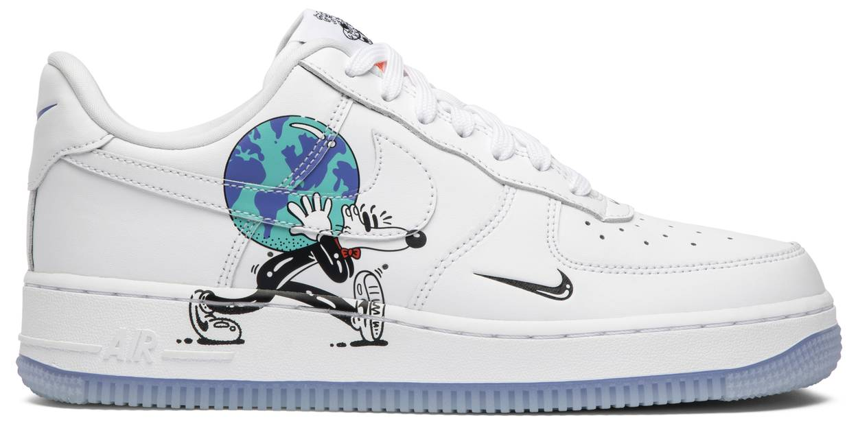 Tênis Nike Steven Harrington x Air Force 1 Low Flyleather QS Earth Day