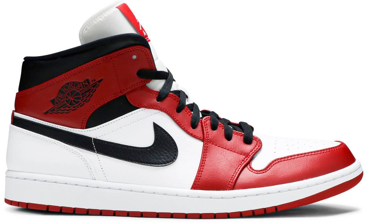Tênis Air Jordan 1 Mid Chicago