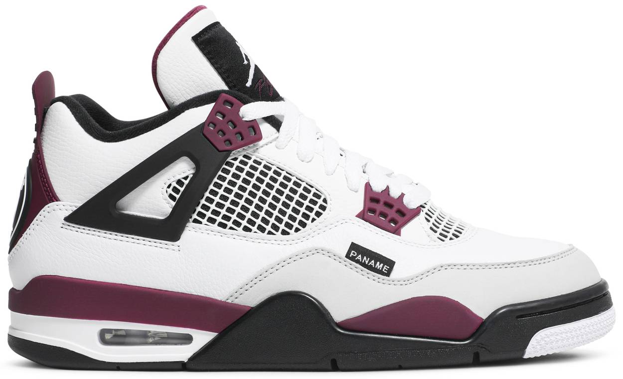 Tênis Paris Saint-Germain x Air Jordan 4 Retro Bordeaux