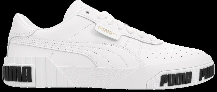 Tênis Puma Cali Bold White Metallic