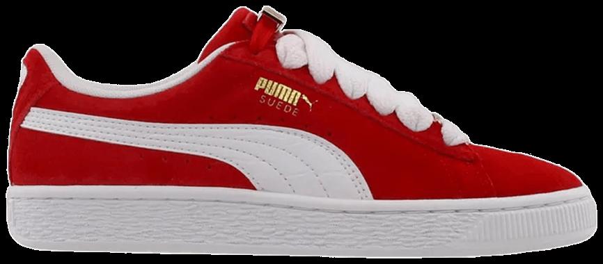 Tênis Puma Suede Fabulous B-boy Scarlet Flame