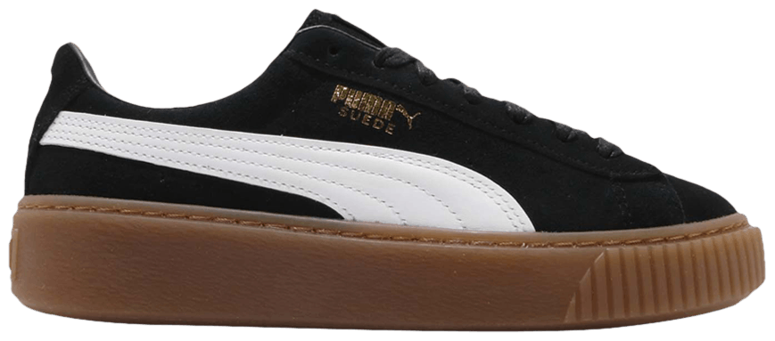 Tênis Puma Suede Plataform Black Gum