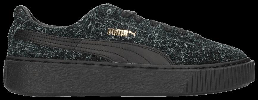 Tênis Puma Suede Plataform Elemental Black