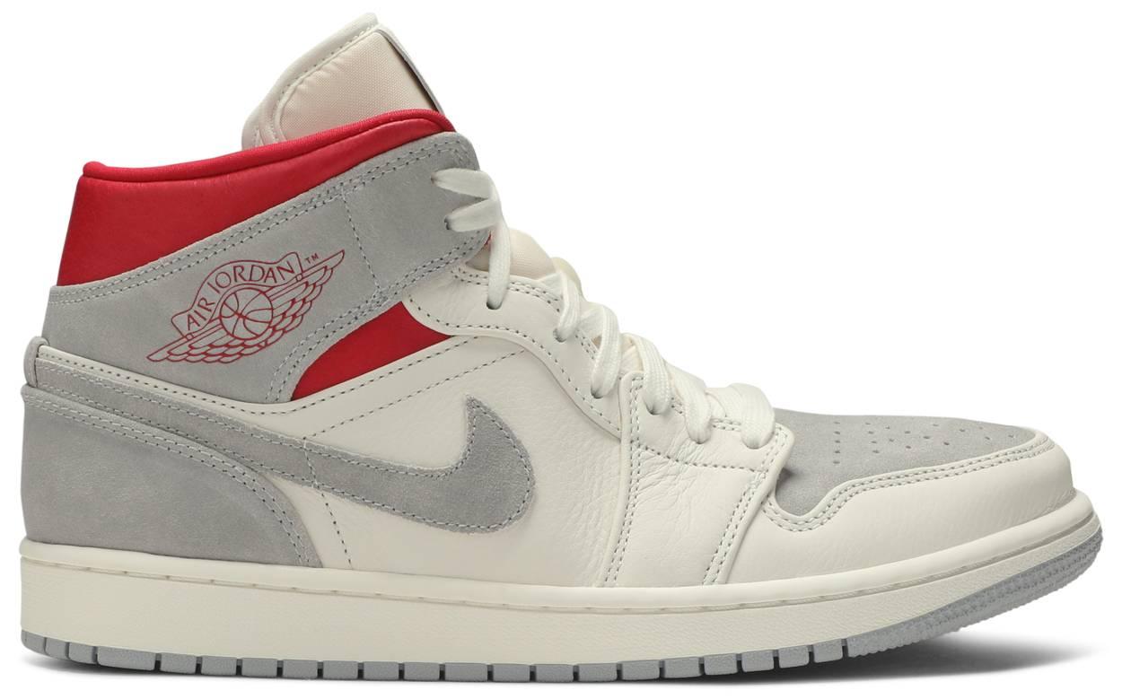 Tênis Sneakersnstuff x Air Jordan 1 Mid Past, Present, Future