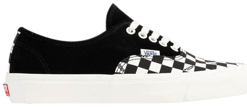 Tênis Vans Authentic Black Checkerboard Toe