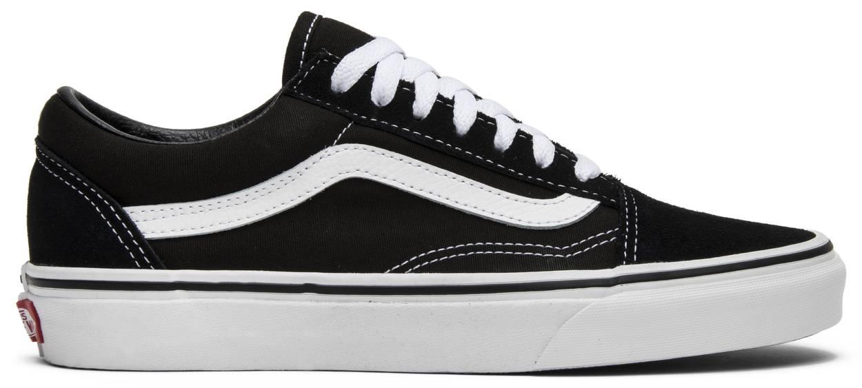 Tênis Vans Old Skool Black White