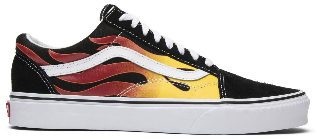 Tênis Vans Old Skool Flames
