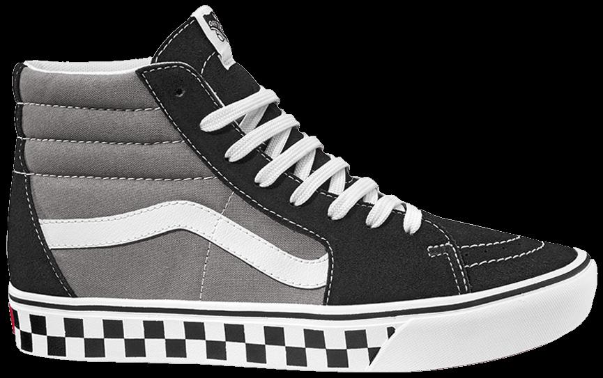 Tênis Vans Sk8-Hi ComfyCush Tape Mix Black Frost Grey